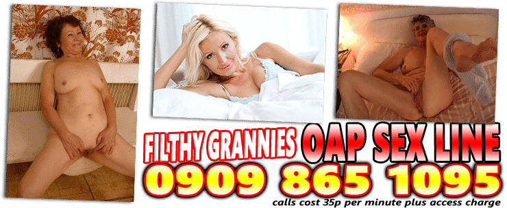 Filthy Grannies, OAP Sex Line