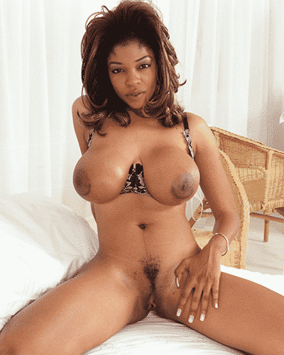 Sexy ebony phone sex girl Tamera, naked